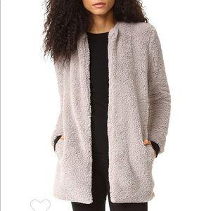 BB Dakota Merrill Soft Sherpa Faux Fur Jacket